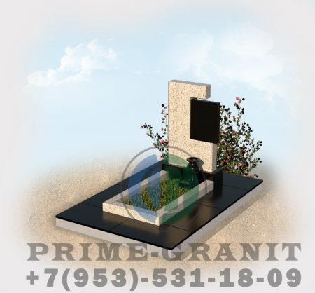 фото памятник из белого гранита