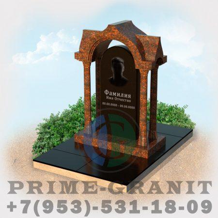 фото памятник часовня на могилу