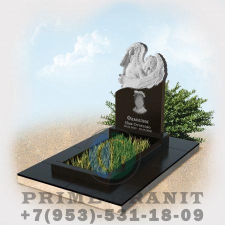 фото Памятник в виде ангела на могилу ребенку